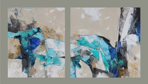 A Story of Ice - diptych-1