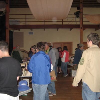 Book Sale Crowd