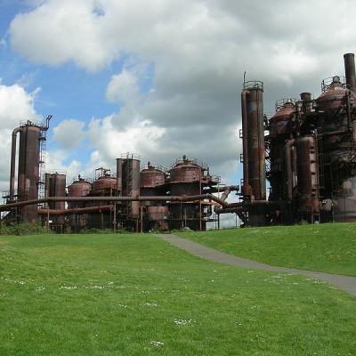 Gas works park, image
