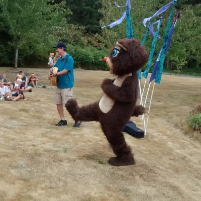Mr. Bear, Russian dancer!